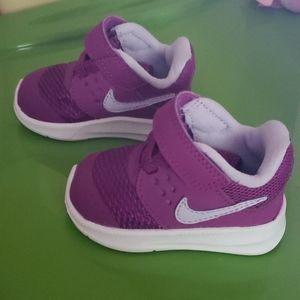 Nike baby girl shoes 2C Purple NWOT